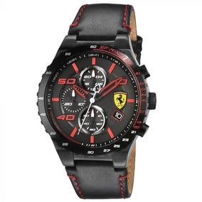 Relógio Ferrari Preto Vermelho