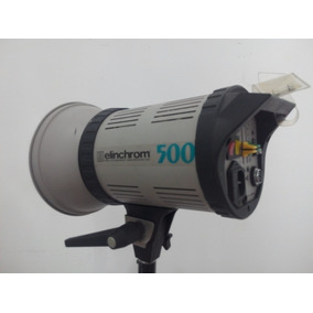 Flash Elinchrom 500 Professional- Luces Reflectores Poco Uso
