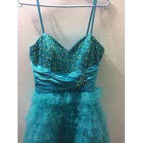 ee834a1af2e4d Vestido De 15 Anos Azul Tiffany - Vestidos De 15 anos Femininas em ...