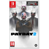 Pay Day 2 Nintendo Switch Videojuegos Físico