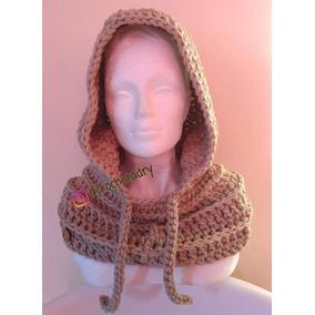 Gorro Capucha Crochet