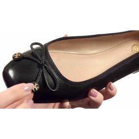Tori Burch Ballet Flats 1 Puesta Original Impecables