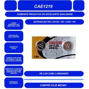 45441626412 Bateria Botão Lr1120   391   Ag8   191 - Cartela Com 2 Un. R  13 50