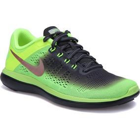 33a6f3a6b21 Tenis Para Running Nike Flex 2016 Rn Talla 28 Envío Gratis