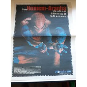 Andrew Garfield - Homem Aranha - Material De Revistas Jornal