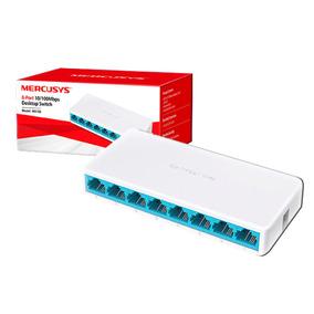 Switch 8 Puertos Mercusys 10/100 Ms105 Rj45 Tienda Bagc