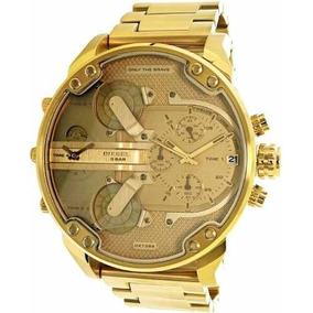 cbae3a8a294 Rio de Janeiro · Relógio Diesel Dz7399 Mr. Daddy 2.0 Dourado Original 57 Mm