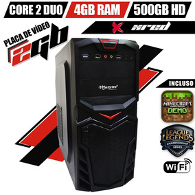 Pc Gamer Xred Intel 4gb Ram 500gb Hd Vga R5 230 2gb Wifi Hdm
