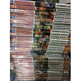 Naruto Coleção - 33 A 61 + Livro Secret. Confronto - Mangá