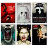 American Horror Story Temporadas 1 2 3 4 5 6 Originales Dvd