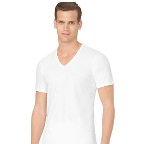 Calvin Klein Camiseta 3 Pz Cuello V Original * Envio Gratis*