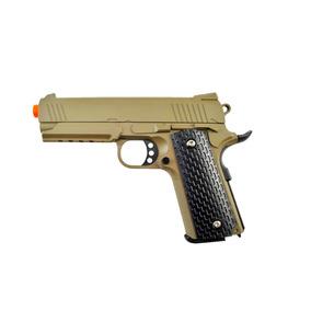 Pistola Airsoft Galaxy G25 Desert Full Metal - Spring