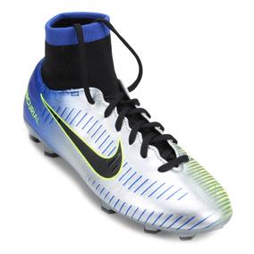 Chuteira Nike Mercurial Victory Vi Campo Azul - Chuteiras no Mercado ... fc1c372d431f9