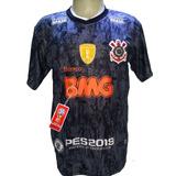 Camisa Corinthians Preta Nova 2019 #vaicorinthians Bmg