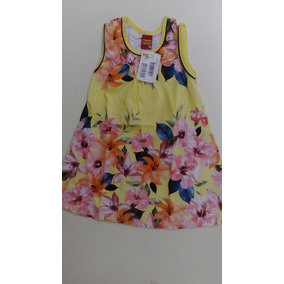 Vestido Infantil Cavado M/malha Kyly 108817