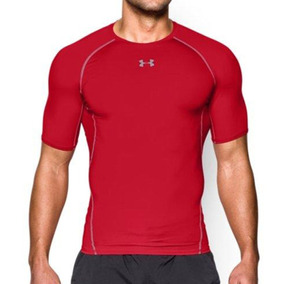 Remera Under Armour Training Ua Hg Armour Hombre Rj/rj