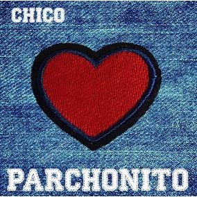 Parche Para Ropa Corazón Rojo Chico