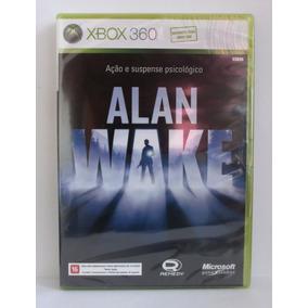 Alan Wake Jogo Xbox 360 E Xbox One Novo Lacrado Mídia Fisica