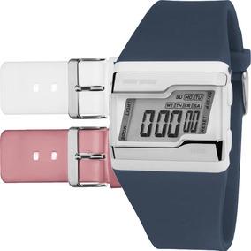 Relógio Mormaii Feminino Troca Pulseira 3 Cores Fzu/8c