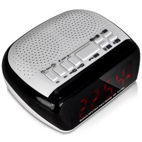 0c5bca26eeb Rádio Relógio Digital - Rádios AM FM no Mercado Livre Brasil