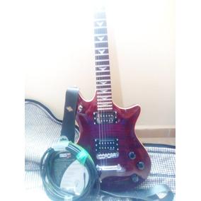 Guitarra Schecter Tempest Extreme + Cable De 7 Metros +forro