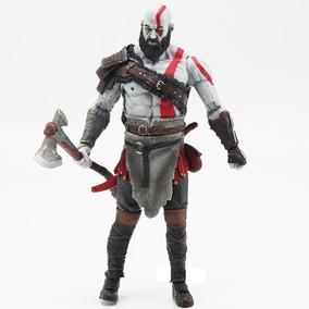 God Of War 4 Kratos Ps4 Action Figure Boneco Lançamento