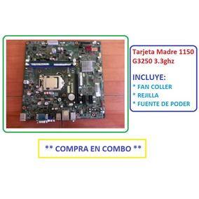 Tarjeta Madre 1150 G3250 3.3ghz Combo Fan+rejilla+fuente