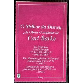 O Melhor Da Disney -as Obras Completas De Carl Barks:21 A 24