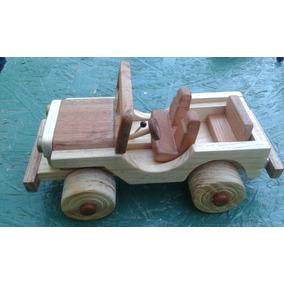Autos De Madera Para Niños