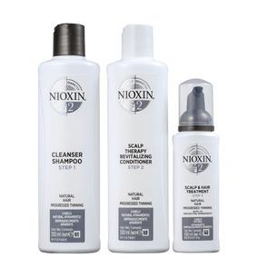 Kit Nioxin System 2 (3 Produtos) Blz