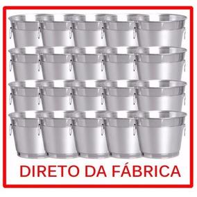 Kit Com 50 Balde De Gelo E Cerveja Aluminio Puro E Reforçado - Casa ... 0482400466cb9