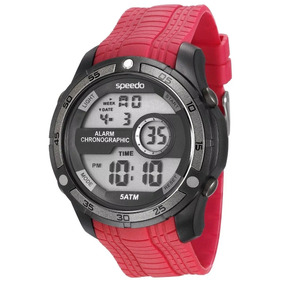 Relogio Speedo Masculino Red Digital Esporte