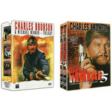 Coleção Completa Desejo De Matar Box 1 E 2 / Charles Bronson