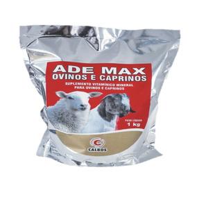Ade E Mineral Cabras Leiteiras Carneiros Cabritos Doper 1 Kg