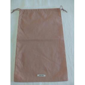 Dust Bag (03 Un.) Miumiu 35cmx22,5cm Original.