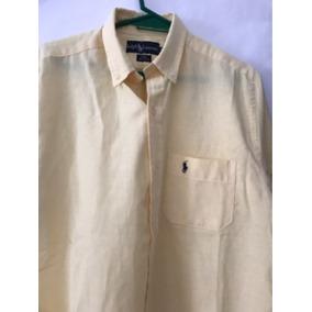 e2ac56455f Camisa Polo Ralph Lauren Color Amarillo Clarito