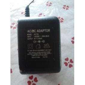 Ac/dc Adaptor. Modl: Ad-738. Input: 110/220v_60hz 80ma.