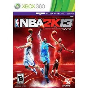 Nba 2k13 Xbox 360 Fisica Original Xbox360 Frete Gratis