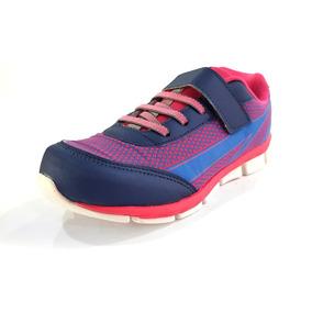Tênis Pé Com Pé Runner Pink/azul Marinho (440) - 71004