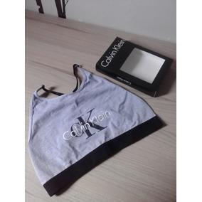 Top Feminino Calvin Klein Sem Bojo 4604220dc40d4