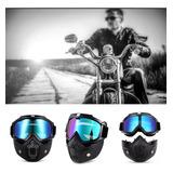 Full Gafas Y Mascara Gogle Motociclista Gotcha Tactica Mili