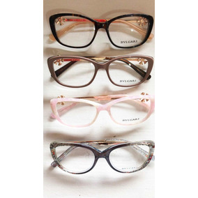 a83a868131c51 Armação Óculos Grau Ys Vários Modelos Acetato Metal Alumínio .