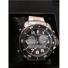 64301972f06 Relogio Atlantis Style G3216 Masculino - Relógios De Pulso no ...