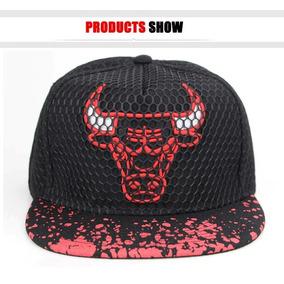 Gorra Chicago Bulls Nba Snap Back Negra Importada a122200979c