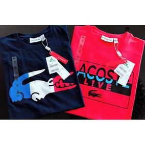 a5d94b819da Lacoste Importadas Do Peru - Camisetas para Masculino no Mercado ...