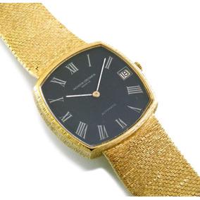fd323db018e Vacheron E Constantin Automático Relógio Em Todo Ouro J5182. R  15.899
