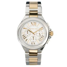 9319d8851179c Relógio Michael Kors Prata E Ouro Rose Mesmo Modelo Da Rolex - Joias ...