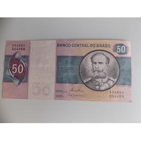 Cédula De 50 Cruzeiros, Deodoro Fonseca,estado De Fe.