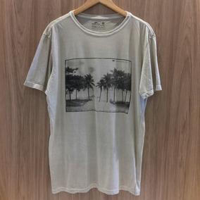 Tam: G - Camiseta Osklen Stone Paisagem Palmeiras Uki
