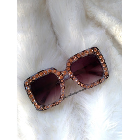 3872393a792bd Oculos Blogueira De Sol Gucci - Óculos no Mercado Livre Brasil